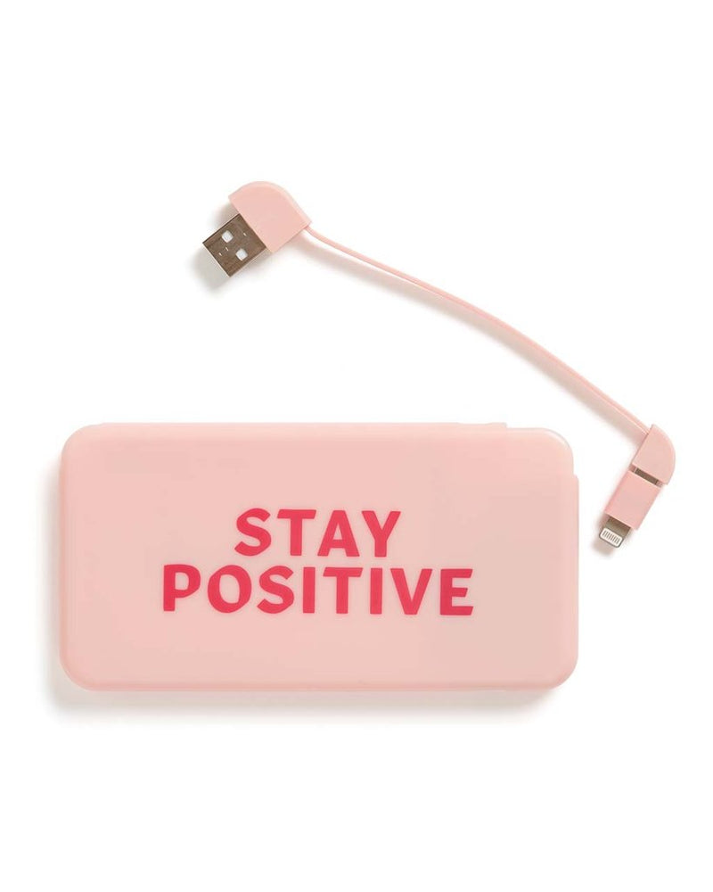 Stay Positive Universal Power Bank