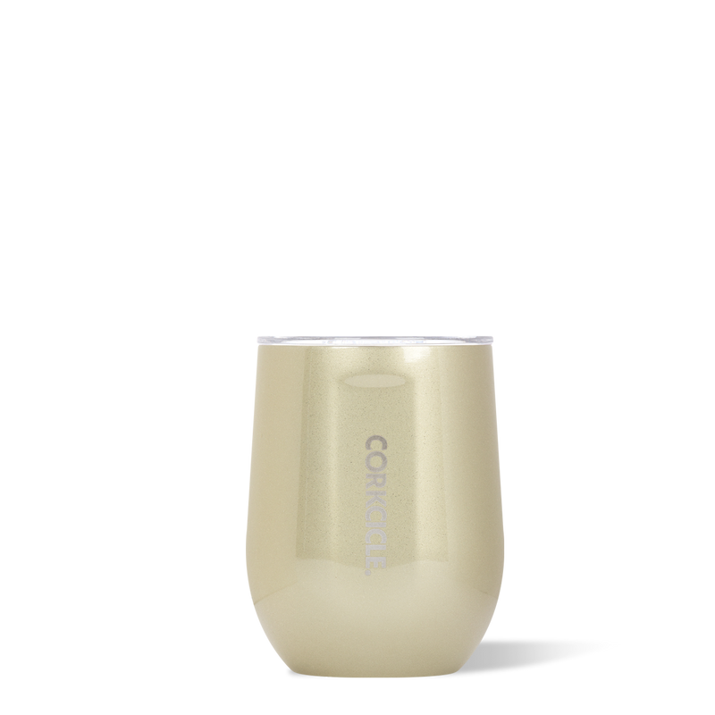 12oz Stemless Wine Cup, Glampagne