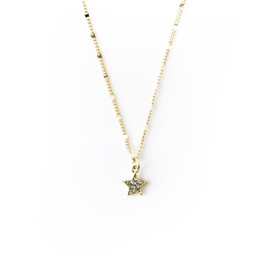 Charm Necklace, Star