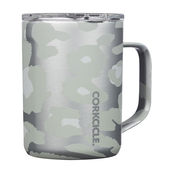 16oz Mug, Snow Leopard
