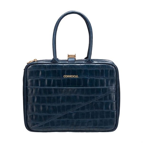 Baldwin Lunch Box, Navy Croc
