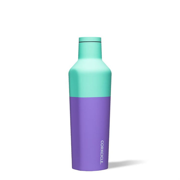 16 OZ COLOR BLOCK CANTEEN, MINT BERRY