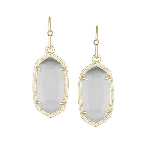 KENDRA SCOTT DANI Earrings in Slate - Sabi Boutique - 1