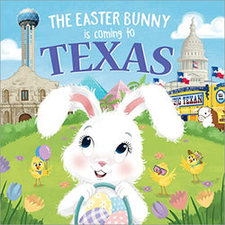 The Easter Bunny is Coming to Texas Book
