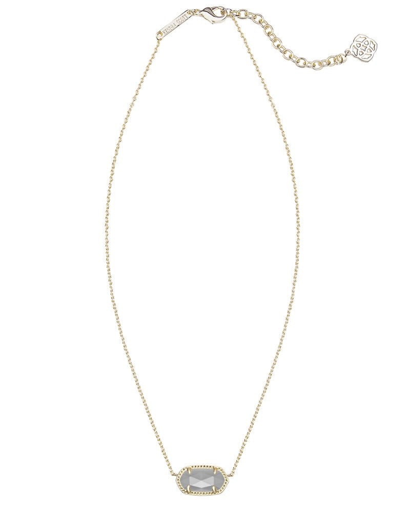 KENDRA SCOTT Elisa Gold Necklace in Slate