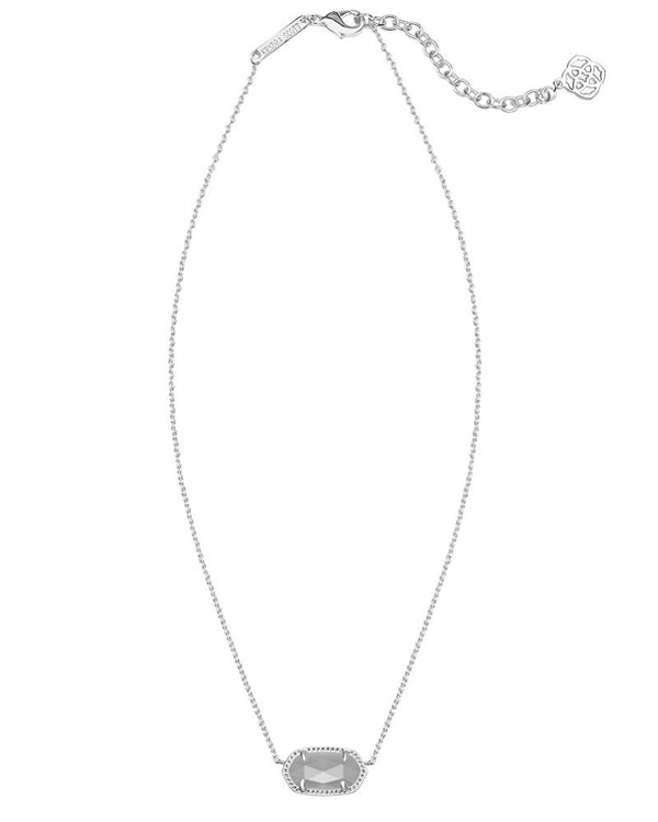 KENDRA SCOTT Elisa Silver Necklace in Slate