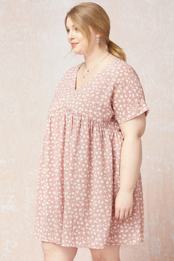 Roll With It Dress, Blush