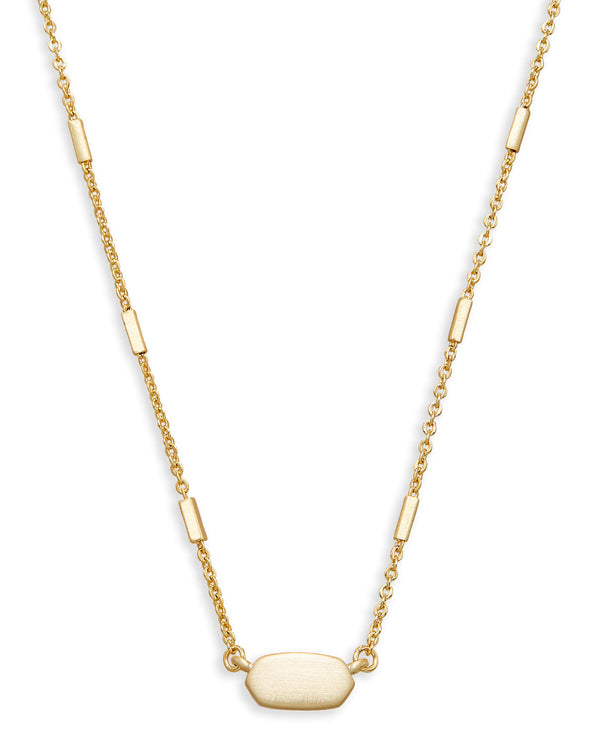 KENDRA SCOTT Fern Necklace, Gold