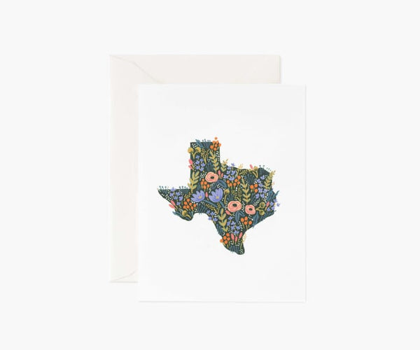 Texas Wildflowers Card