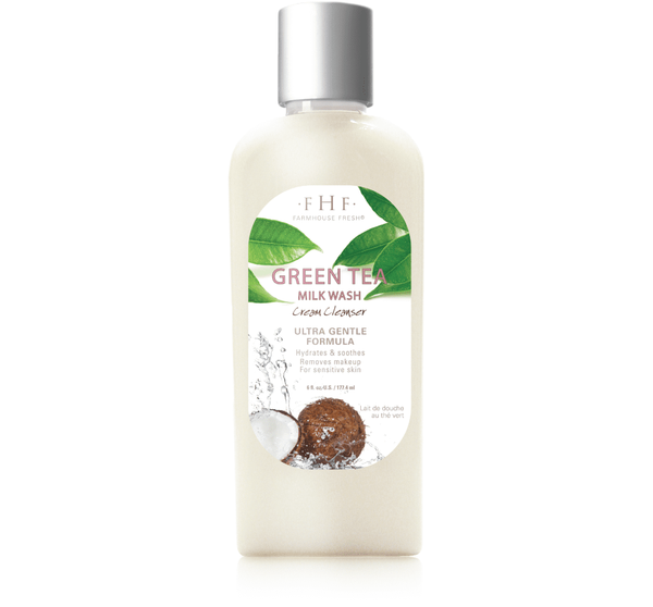 Green Tea Milk Wash Daily Cream Cleanser