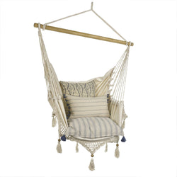 Crocheted Chair Hammock (Pillows Not Included)