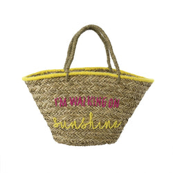 Waling On Sunshine Beach Bag