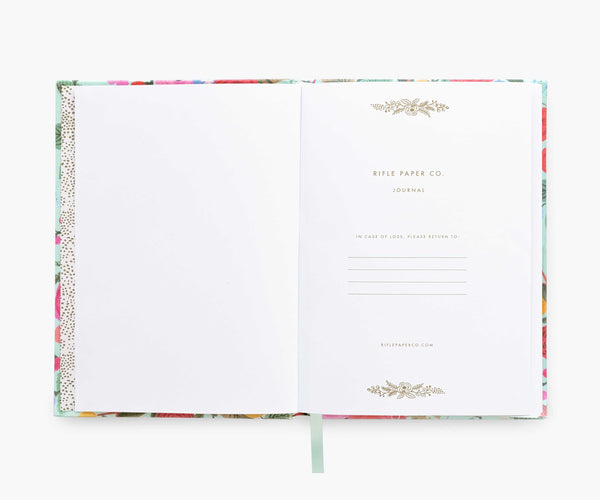 Rifle Paper Co. Fabric Journal, Garden Party