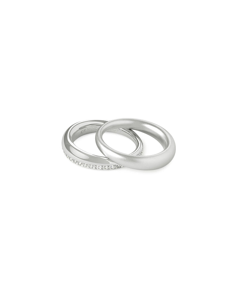 Colette Ring Set In Silver