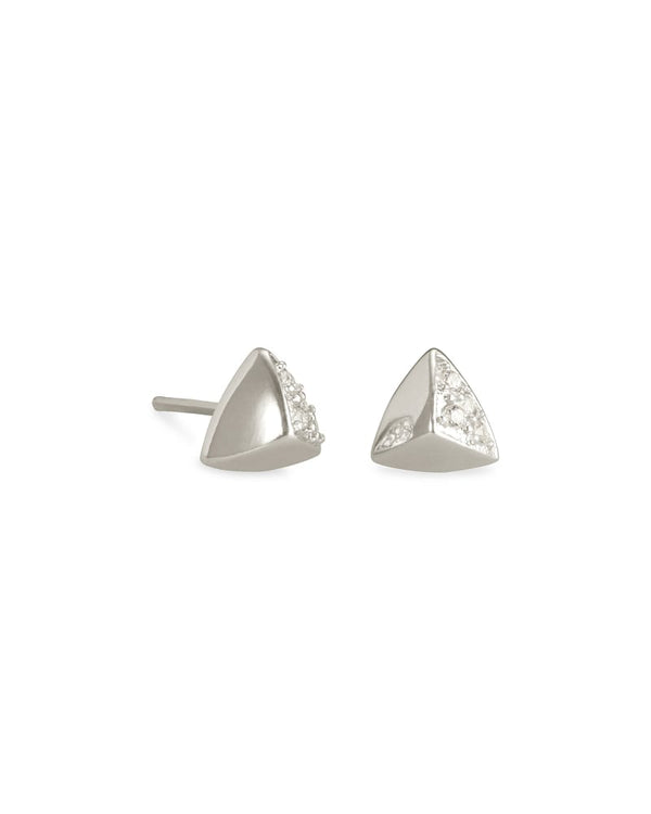 Perry Stud Earrings in Silver