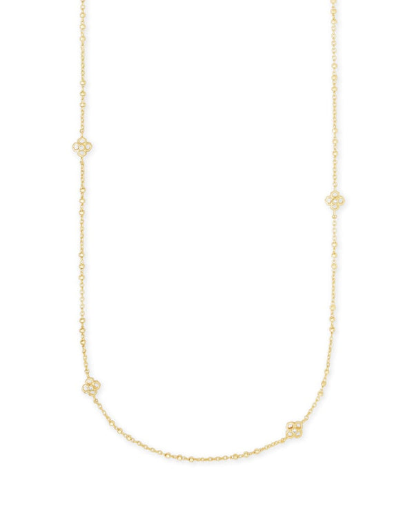 Rue Long Strand Necklace in Gold