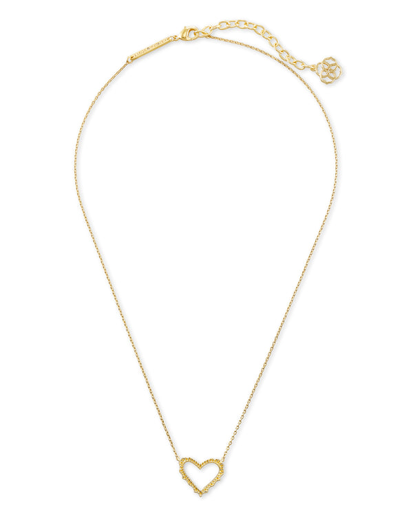 Sophee Heart Small Pendant, Gold