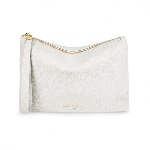 Isla Clutch, White