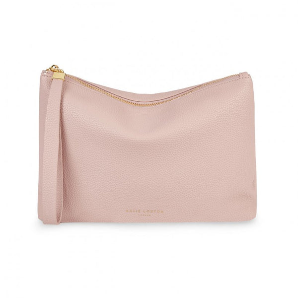 Isla Clutch, Pale Pink