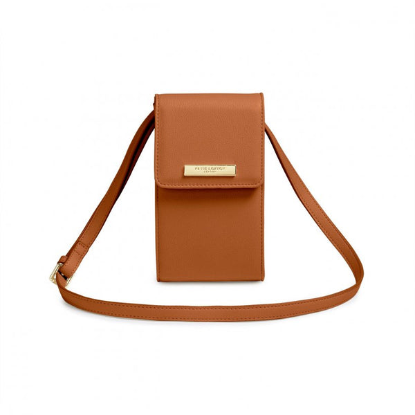 Taylor Crossbody Purse, Cognac
