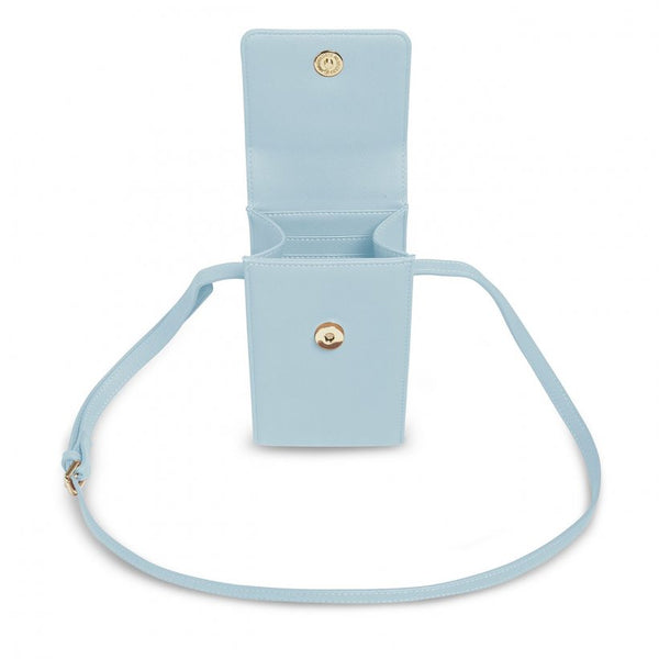 Taylor Crossbody Purse, Pale Blue