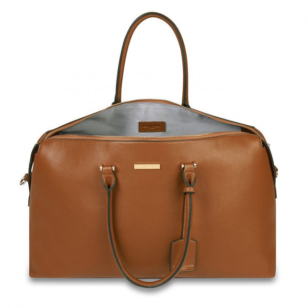 Kensington Weekend Bag, Cognac