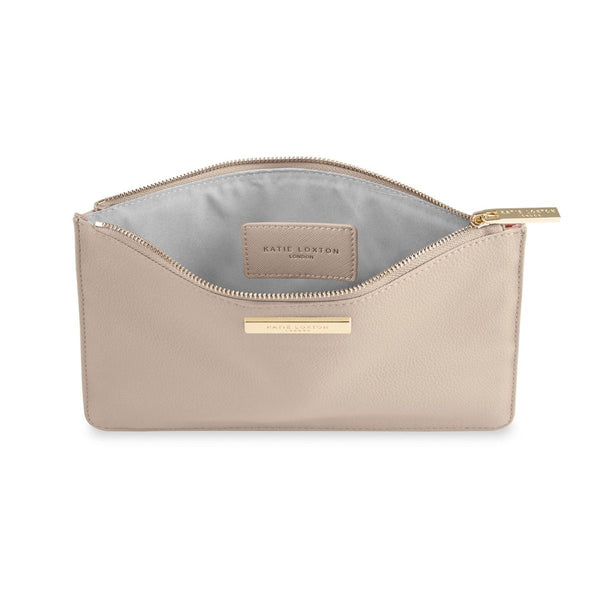 Soft Pebble Pouch in Nude