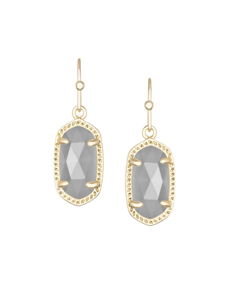 KENDRA SCOTT Lee Earrings in Slate