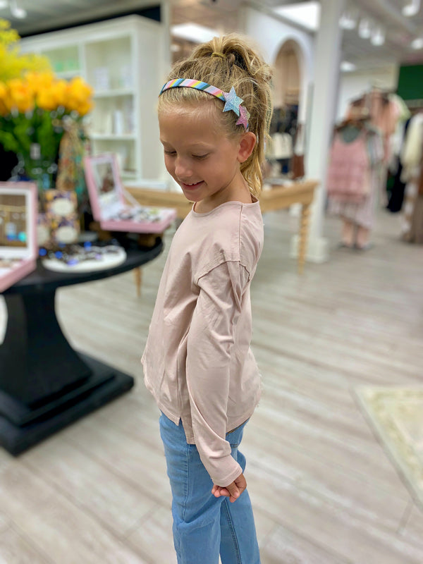 Girls Mina Organic Long Sleeve