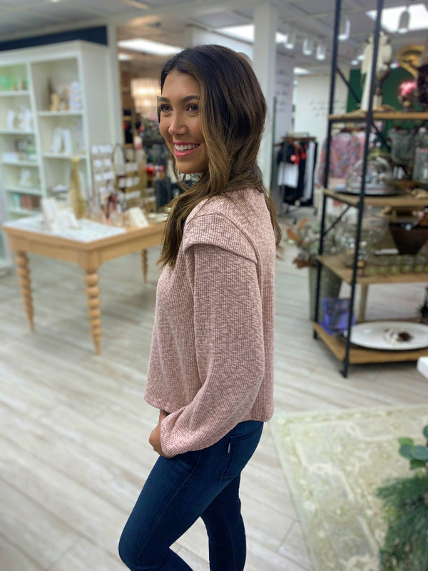 Austyn Sweater, Dusty Pink