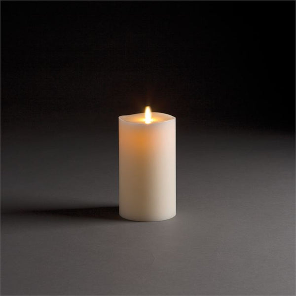 Lightli Wick To Flame Pillar Candle, 7""
