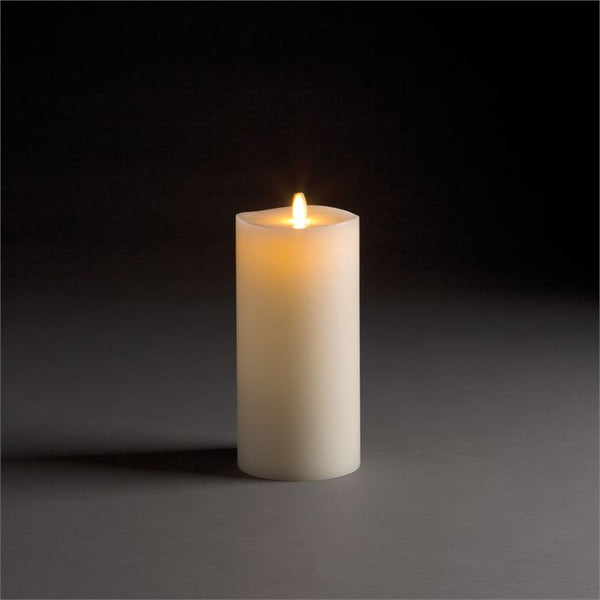 Lightli Wick To Flame Pillar Candle, 9""