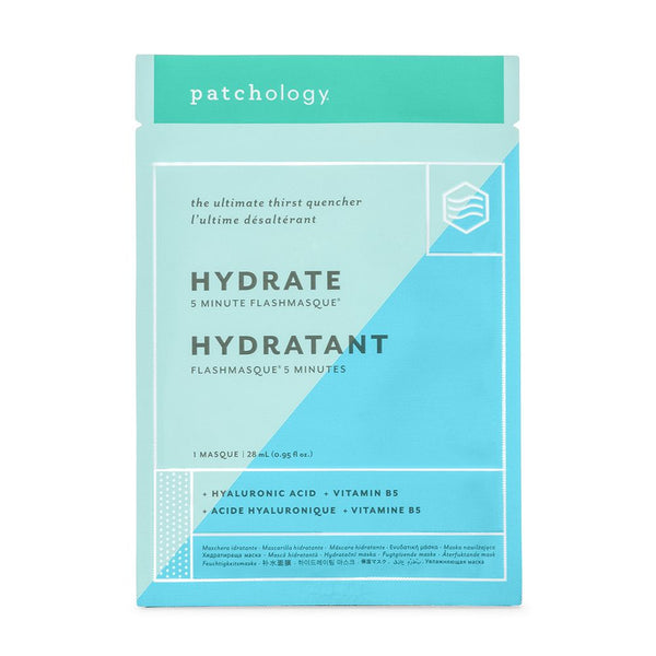 FlashMasque® Hydrate 5 Minute Sheet Mask (Single)