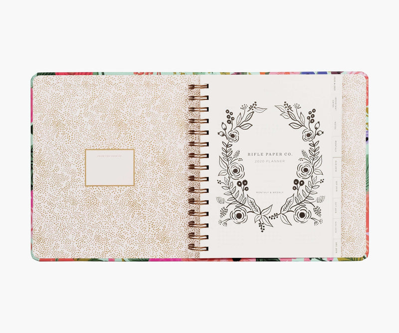Rifle Paper Co. 17 Month Planner, Garden Party