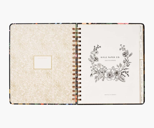 Strawberry Fields 17-Month Large Planner