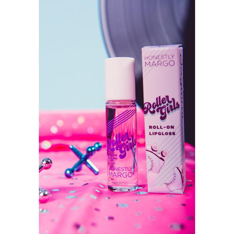 Grape Jazmin Roller Girls Roll-On Lipgloss