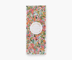 Straws, Garden Party (Set Of 25)
