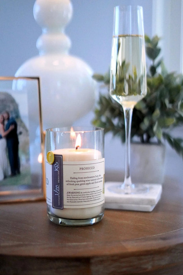 The Original Rewined Candle - Prosecco