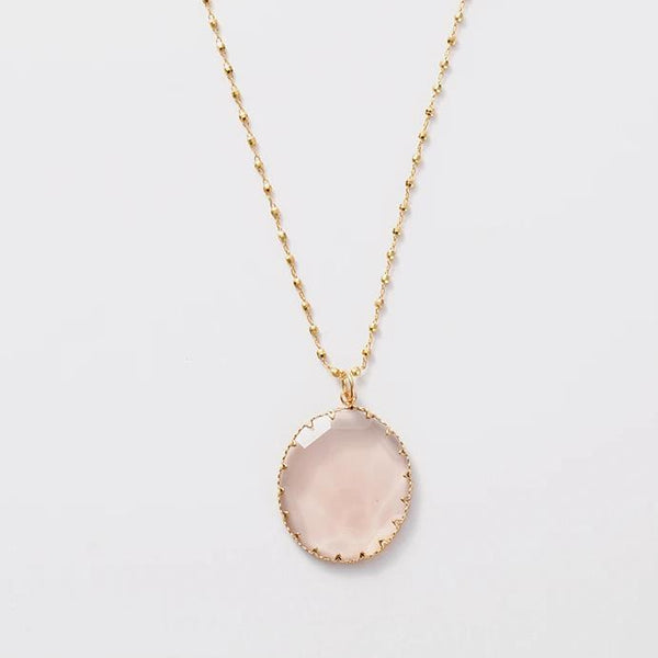 Sky Rose Necklace