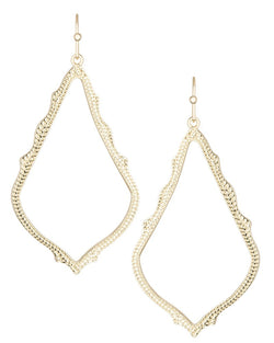 KENDRA SCOTT SOPHEE DROP EARRINGS IN GOLD - Sabi Boutique - 1