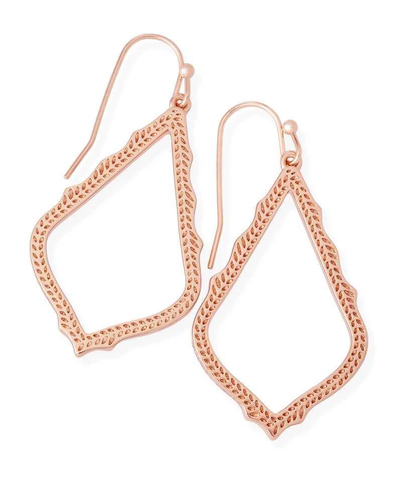 KENDRA SCOTT Sophia Earrings in Rose Gold