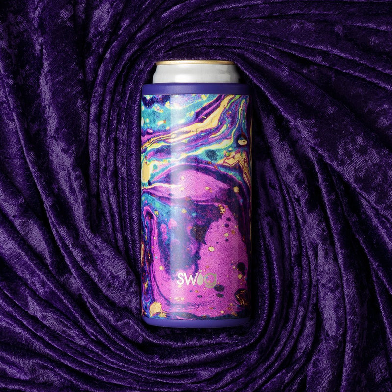12oz Skinny Can Cooler, Purple Rain