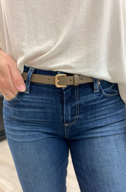 So Famous Belt, Taupe