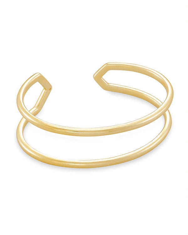 Mikki Cuff Bracelet in Gold