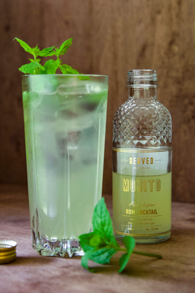 Coctail Mojito med lys rom
