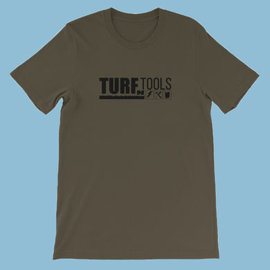 Turf N Tools Black Logo Short-Sleeve Unisex T-Shirt