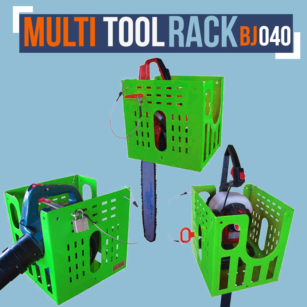 BJ040-MULTI-TOOL RACK (FOR OPEN & ENCLOSED TRAILERS)
