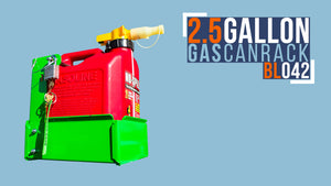 BL042(G)-2.5 GALLON GAS CAN RACK FOR NO SPILL AND SCEPTER BRAND GAS CANS
