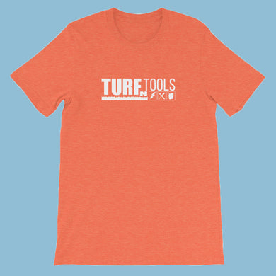 Turf N Tools White Logo Short-Sleeve Unisex T-Shirt