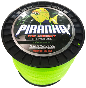 PTL100-PIRANHA NO MERCY SAWTOOTH TRIMMER LINE .120/3LB.